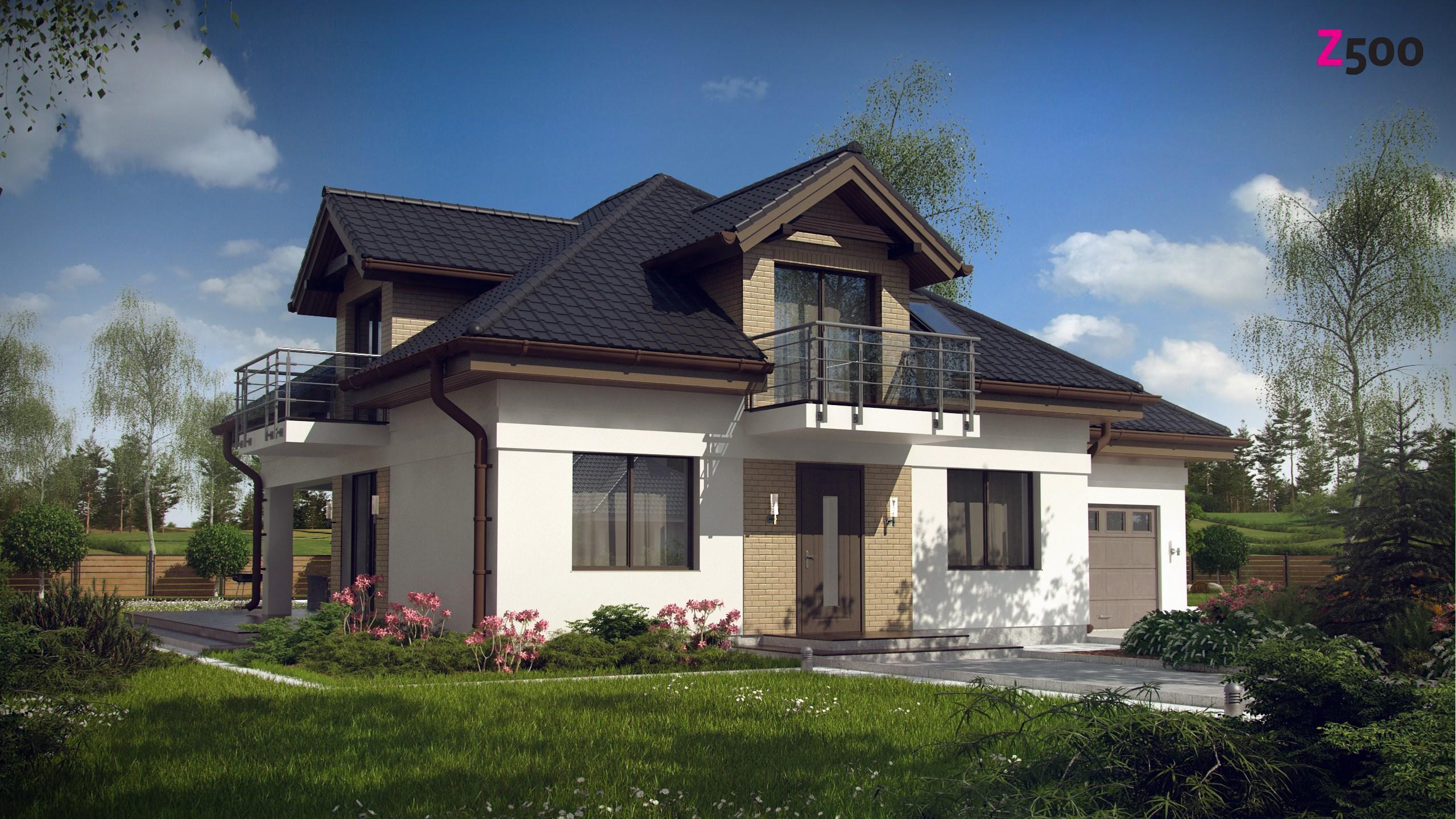 Дом из сип панелей проект z283 (z500) 286 м2 1287000 руб. пр.